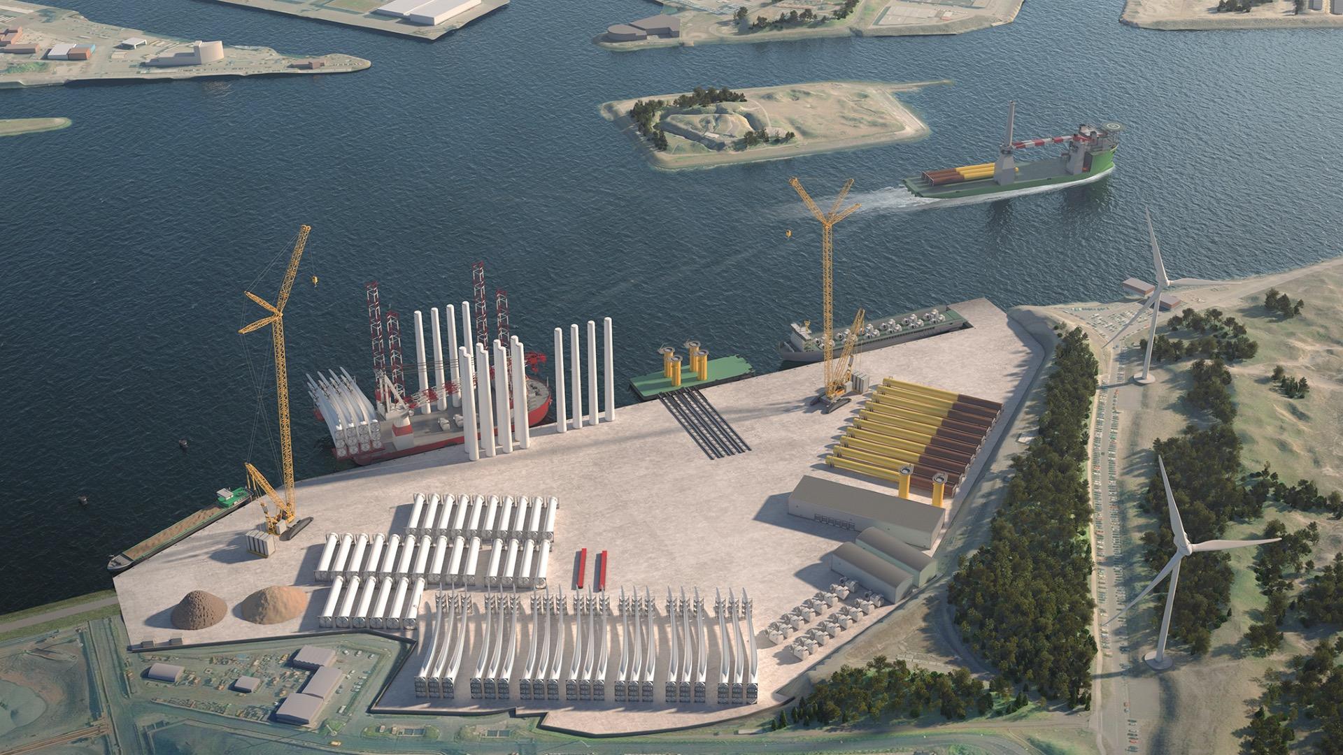 Nieuwe Energiehaven voor de offshore industrie