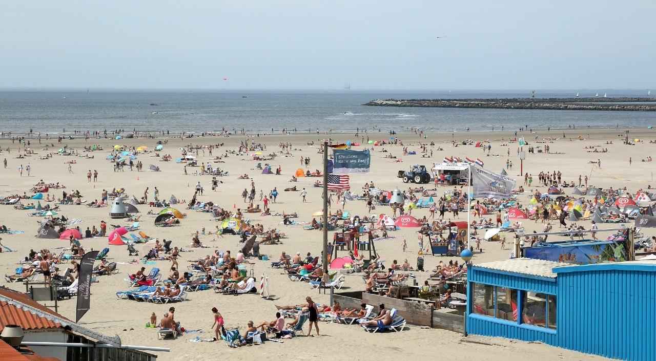 Strand van IJmuiden