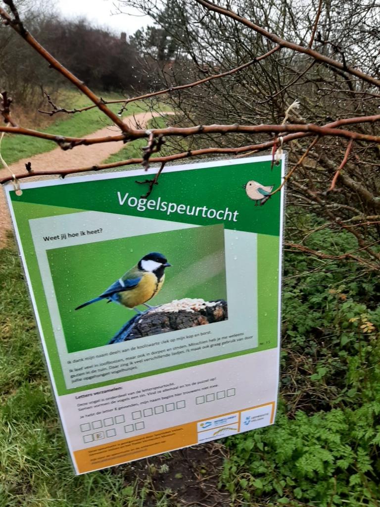 Vogelspeurtocht in Velsen